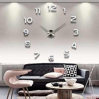 3D Large Wall Clock