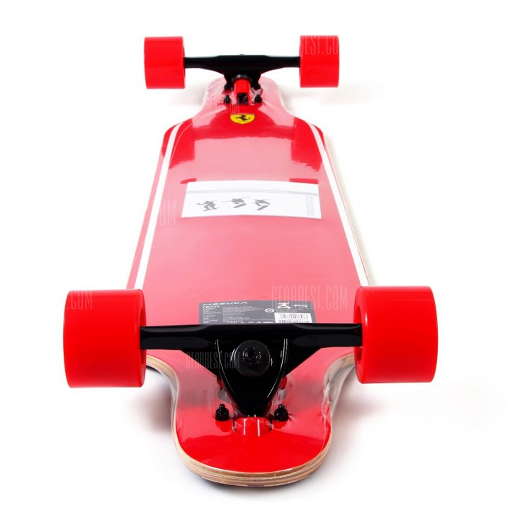 ferrari road skateboard back